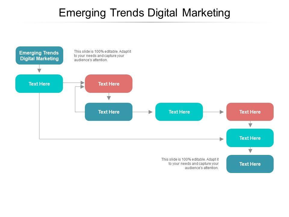 Emerging Trends Digital Marketing Ppt Powerpoint Presentation Icon Good Cpb