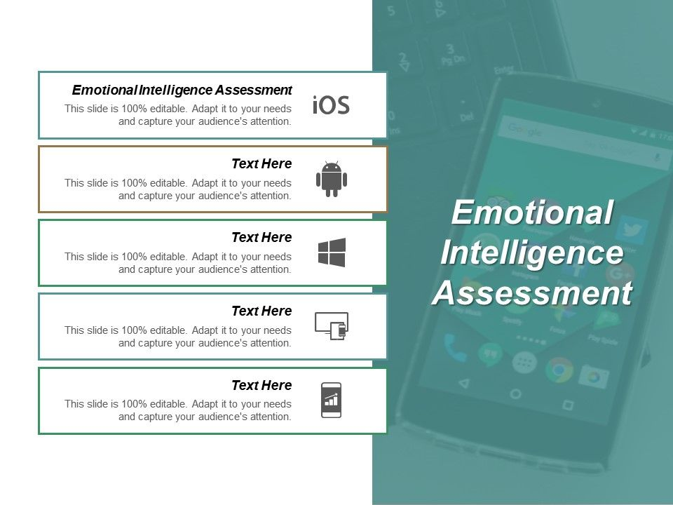 Emotional Intelligence Assessment Ppt Powerpoint Presentation