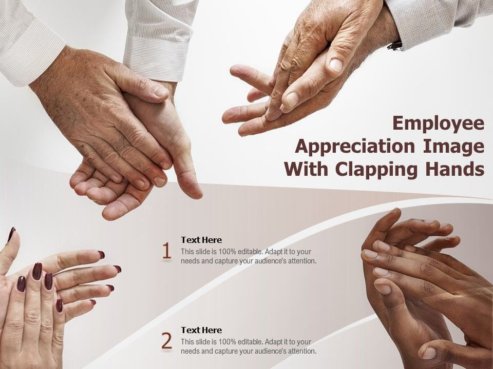 Employee Appreciation Image With Clapping Hands