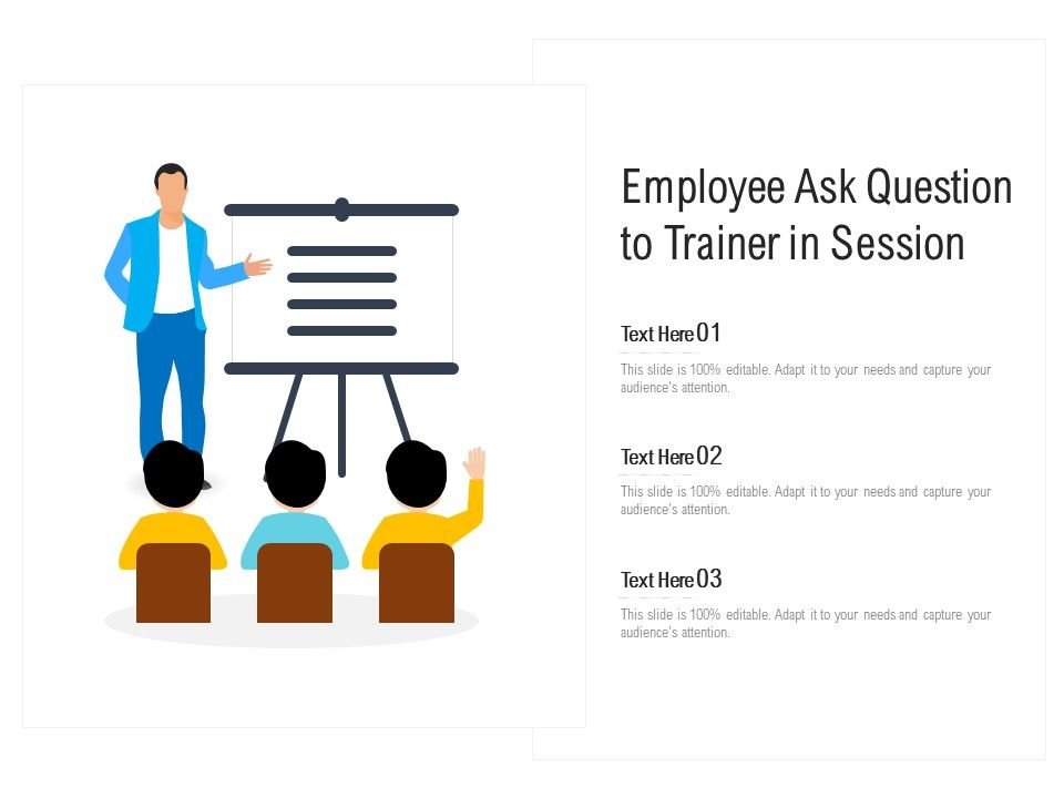 Employee Ask Question To Trainer In Session