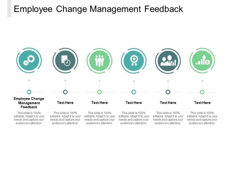 Employee Change Management Feedback Ppt Powerpoint Presentation Deck Cpb