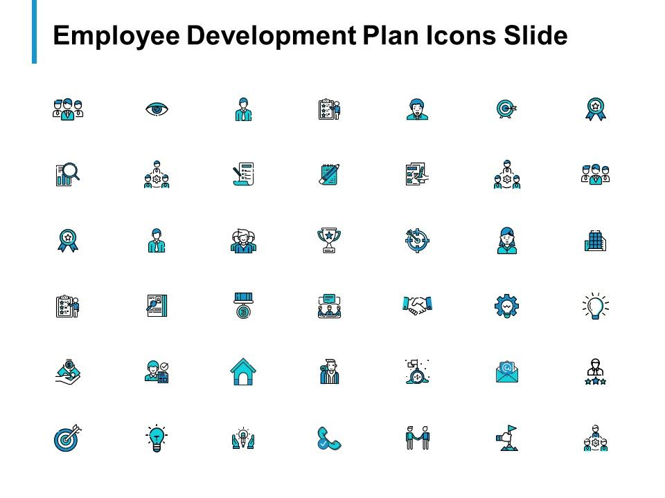 Employee Development Plan Icons Slide Big Data B297 Ppt Powerpoint
