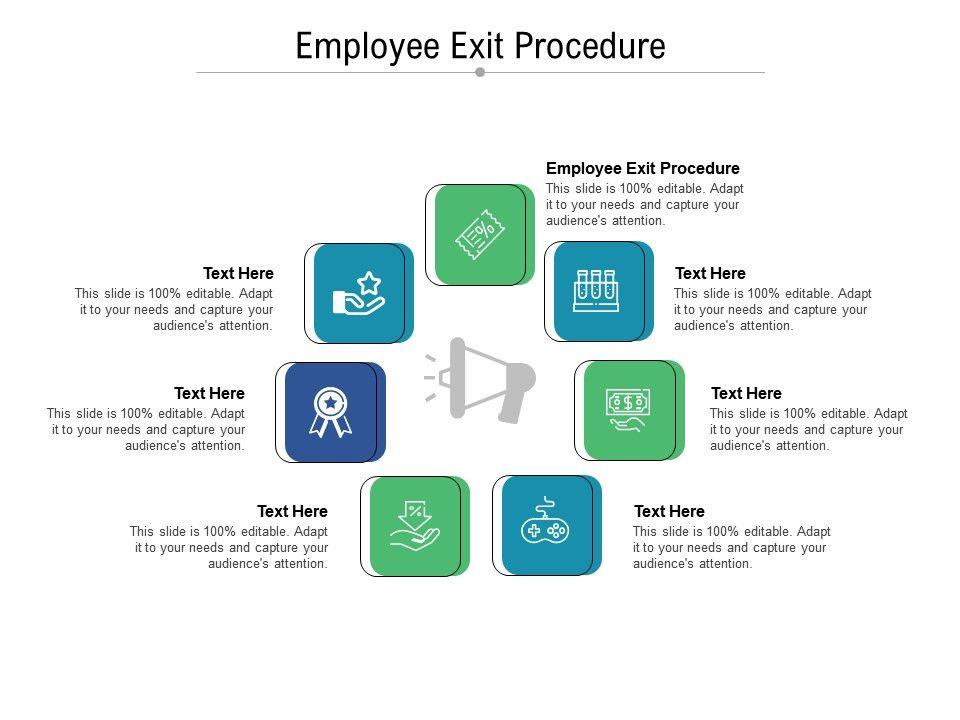 Employee Exit Procedure Ppt Powerpoint Presentation Portfolio Skills Cpb