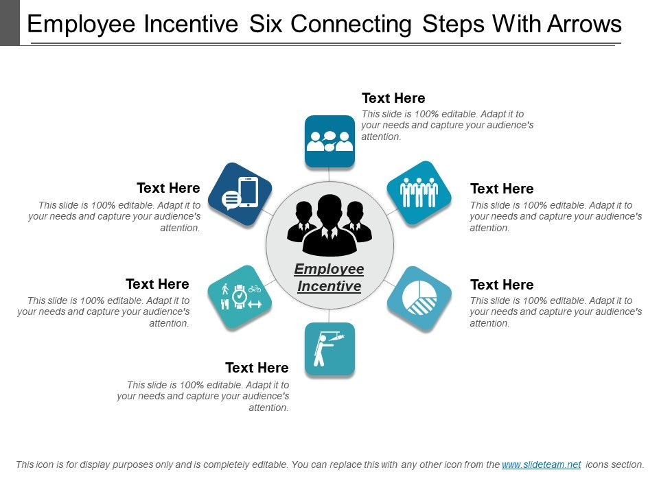 employee_incentive_six_connecting_steps_with_arrows_Slide01