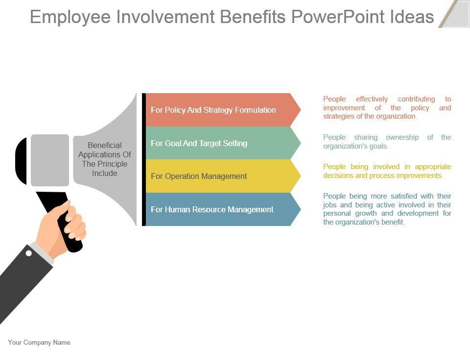 employee involvement benefits powerpoint ideas | powerpoint, Presentation templates