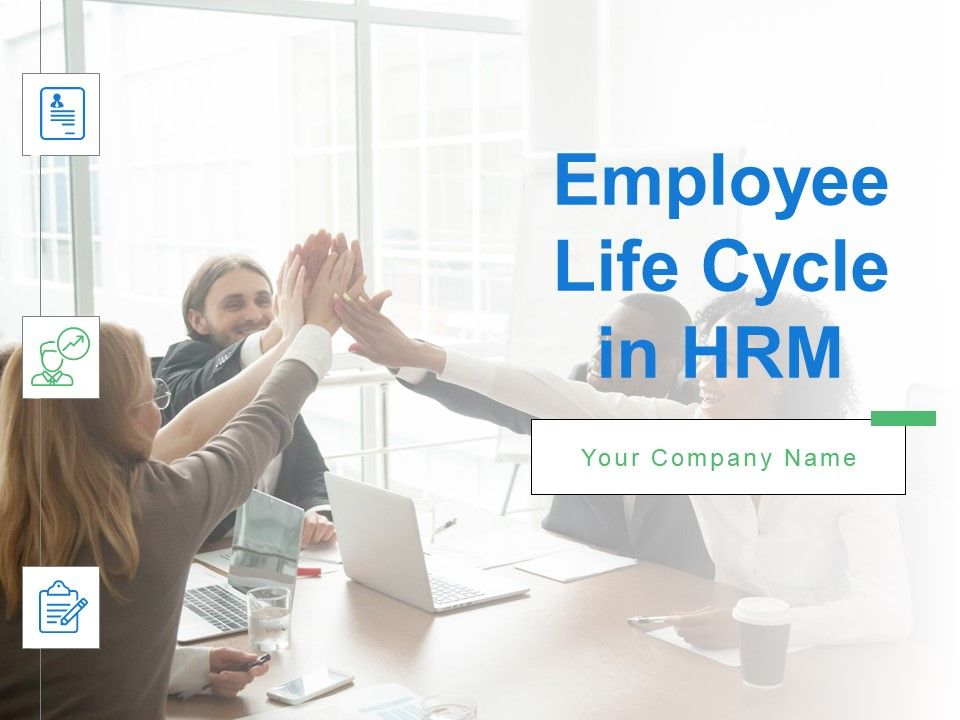 Employee Life Cycle In Hrm Powerpoint Presentation Slides