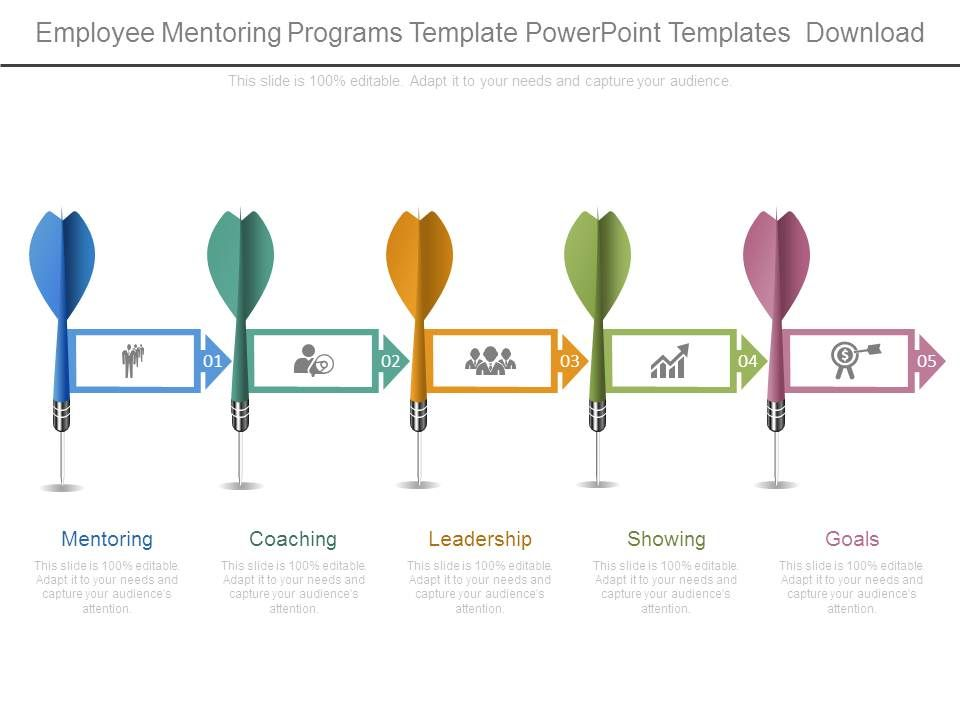 Employee mentoring programs template powerpoint templates for Mentoring application templates