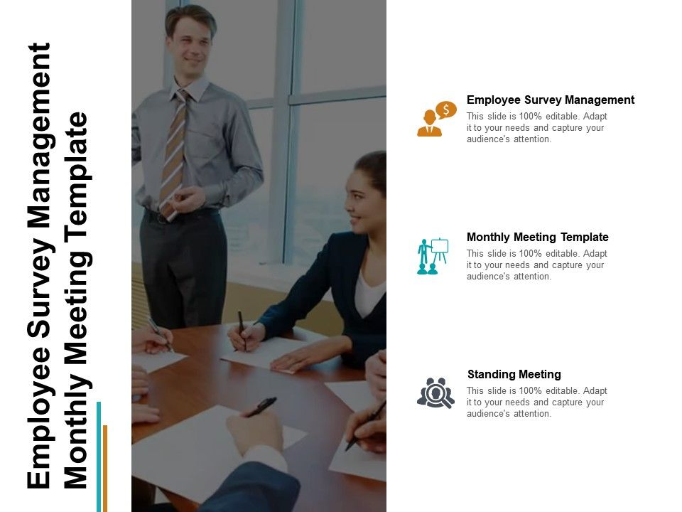 employee_survey_management_monthly_meeting_template_standing_meeting_cpb_Slide01
