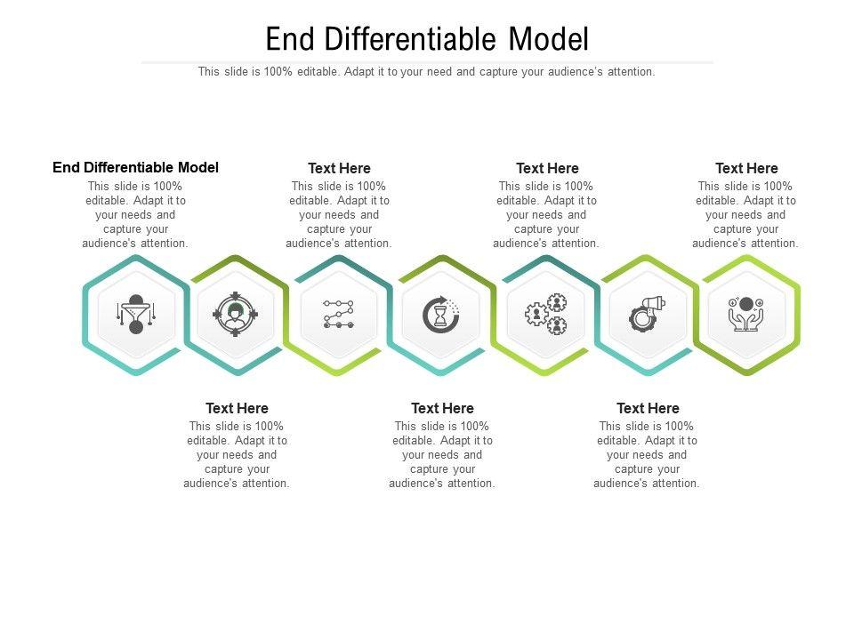 End Differentiable Model Ppt Powerpoint Presentation Portfolio Slides Cpb