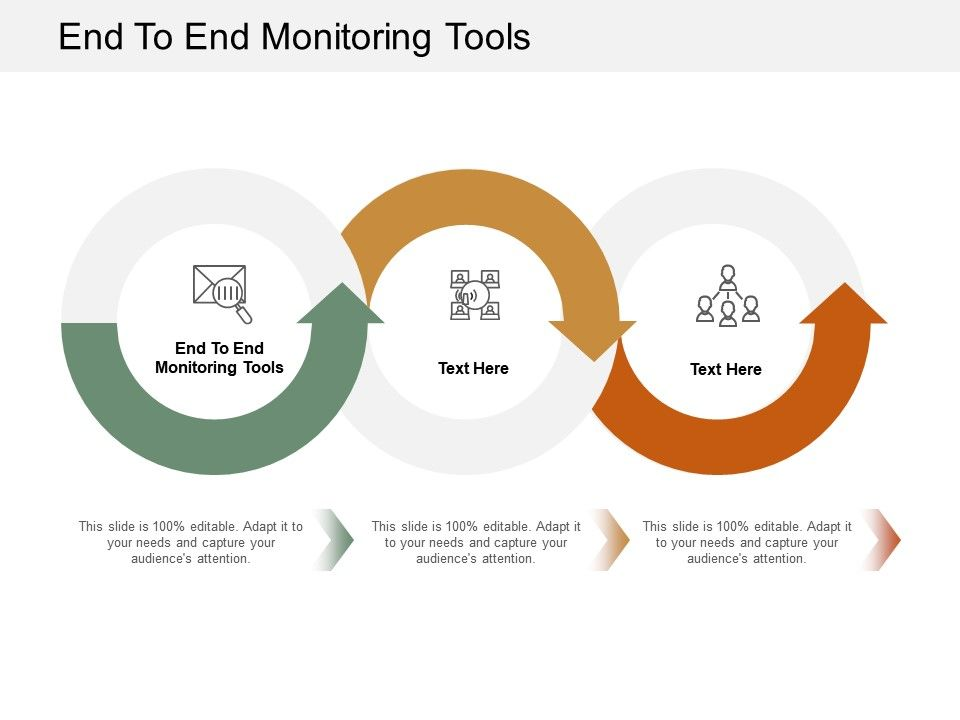 End To End Monitoring Tools Ppt Powerpoint Presentation Professional Template Cpb