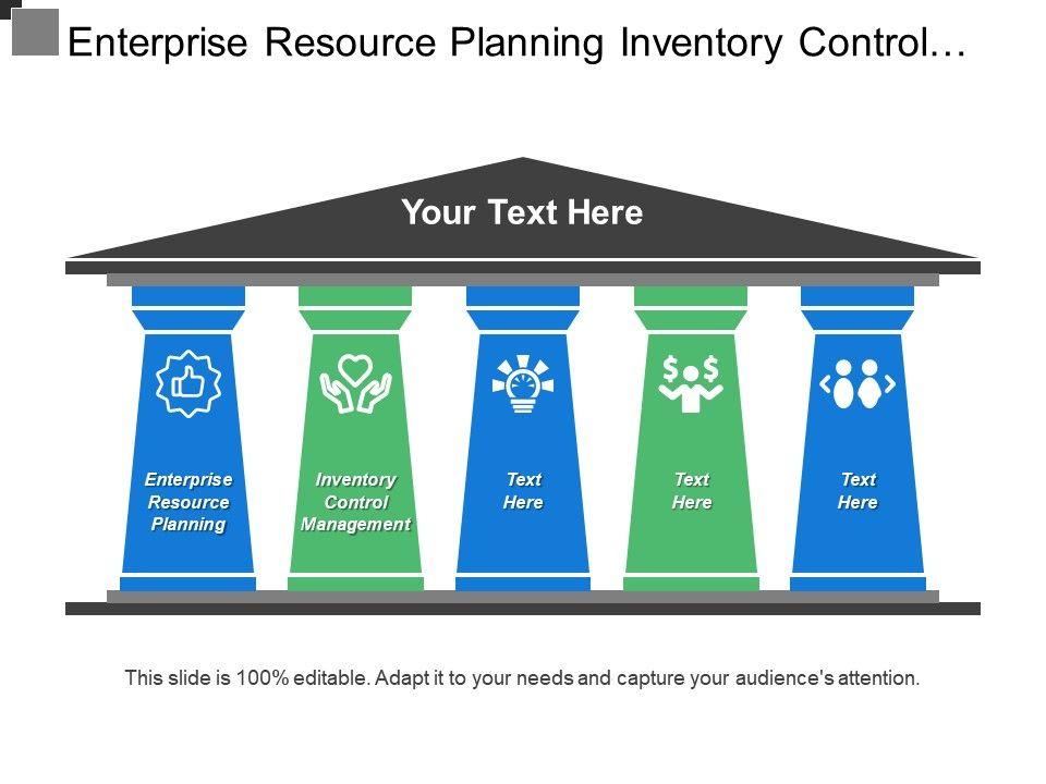 Enterprise resource planning style 2 powerpoint presentation templates.
