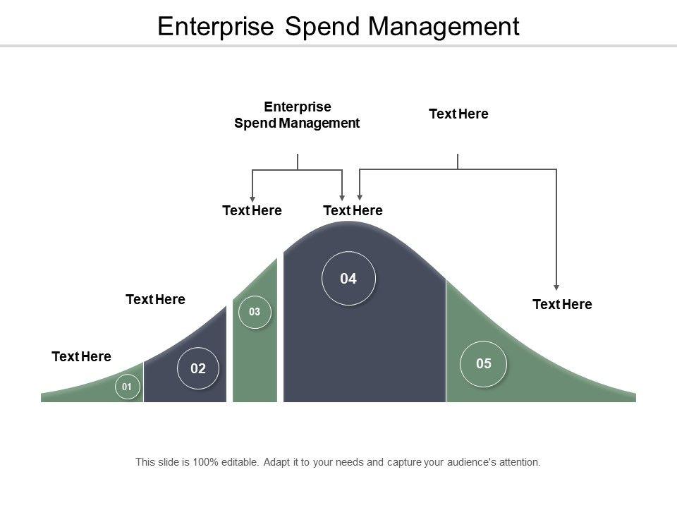 Enterprise Spend Management Ppt Powerpoint Presentation Icon