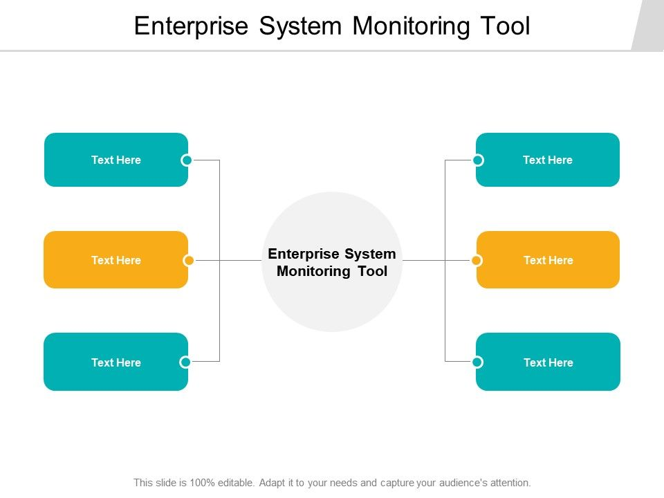 Enterprise System Monitoring Tool Ppt Powerpoint Presentation Outline Cpb