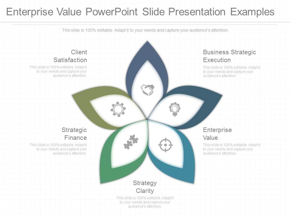 Enterprise Value Powerpoint Slide Presentation Examples