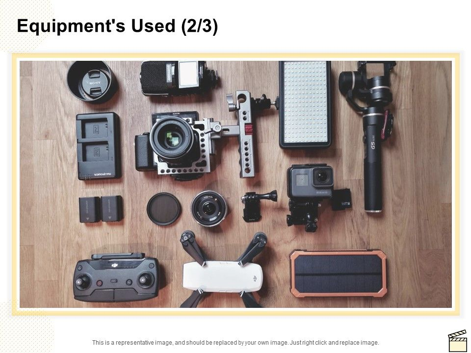 Equipments Used Technology Ppt Powerpoint Presentation Inspiration Layouts