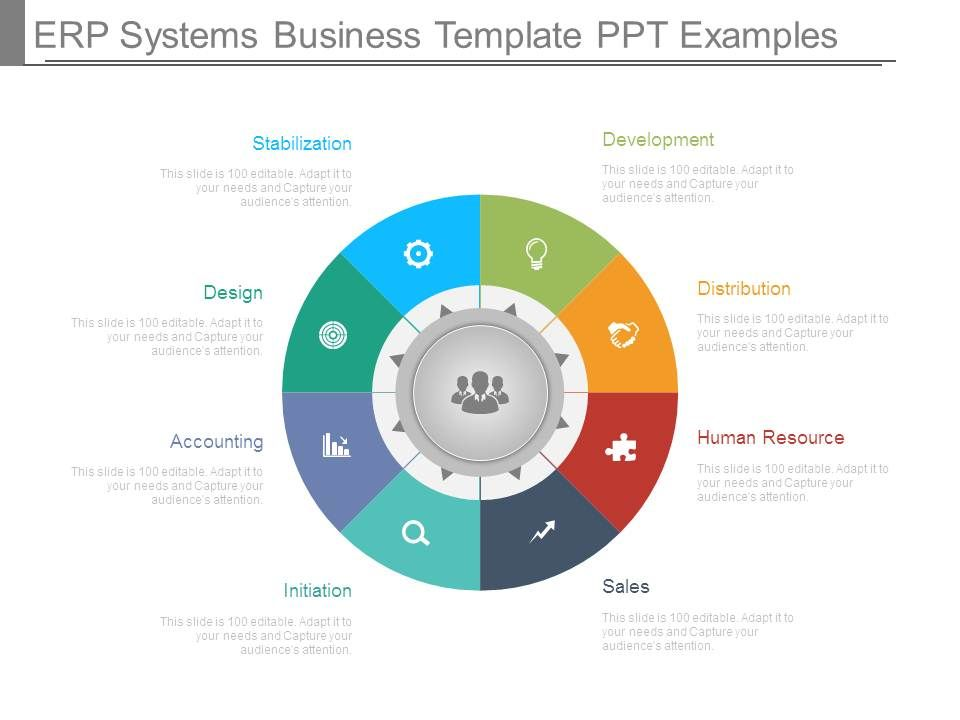 Erp Systems Business Template Ppt Examples Graphics