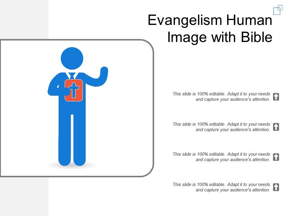 evangelism human image with bible powerpoint templates backgrounds