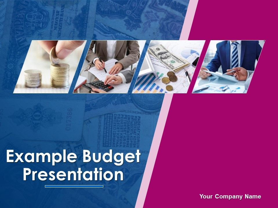 Example Budget Presentation Powerpoint Presentation Slides