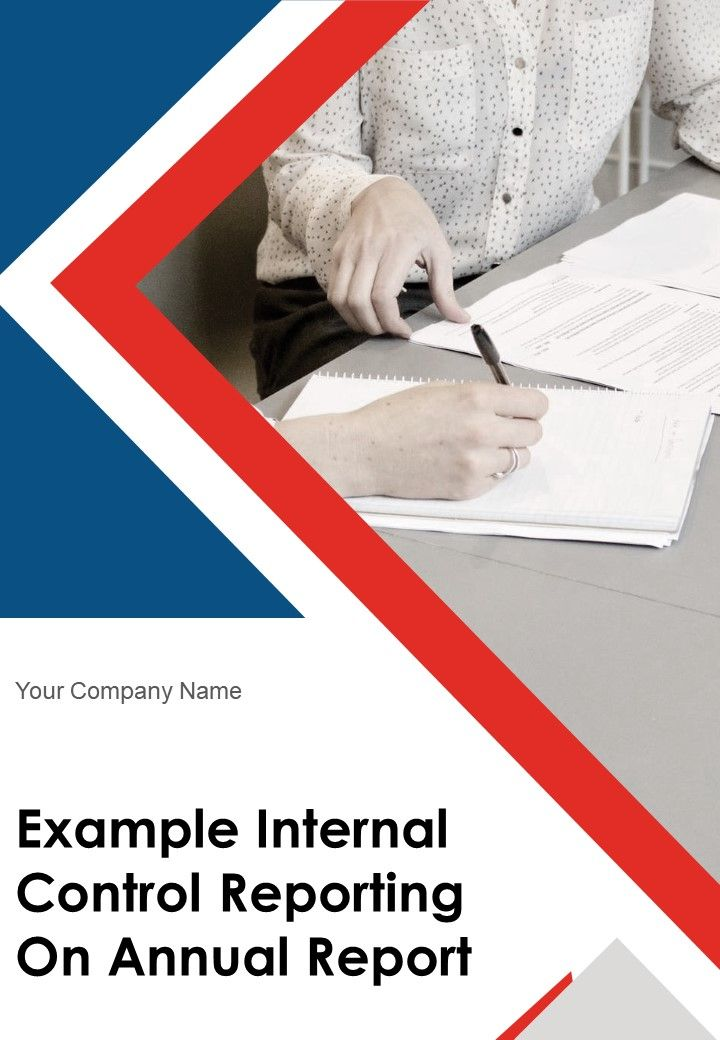 Example Internal Control Reporting On Annual Report PDF DOC PPT Document Report Template