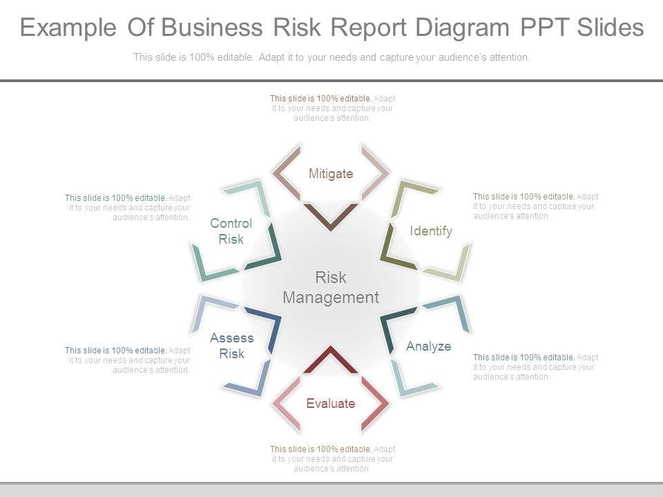 risk management ppt slideshare