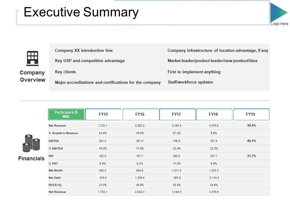 executive_summary_ppt_slides_elements_Slide01