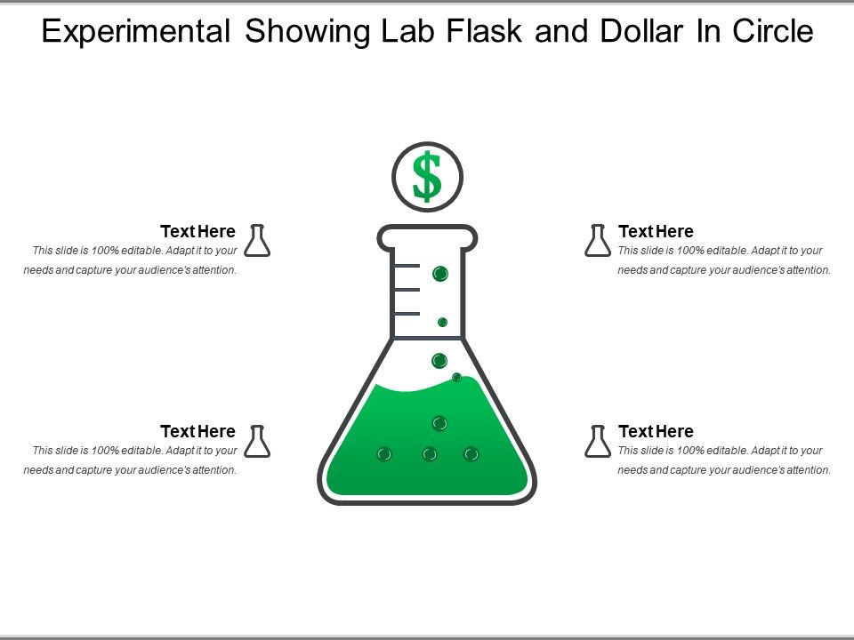 experimental_showing_lab_flask_and_dollar_in_circle_Slide01