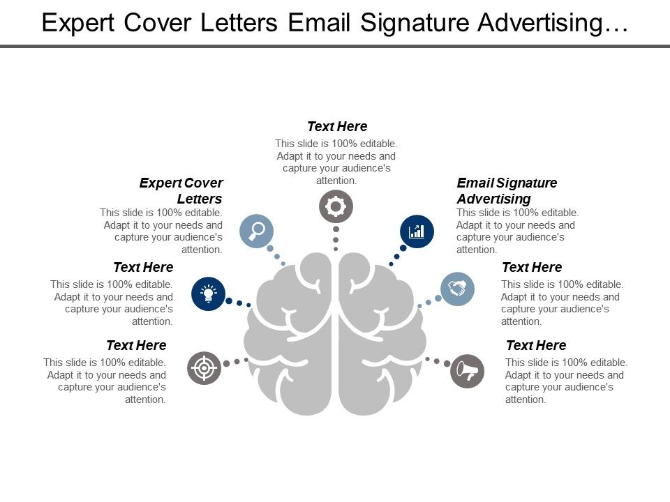 Expert Cover Letters Email Signature Advertising Performance