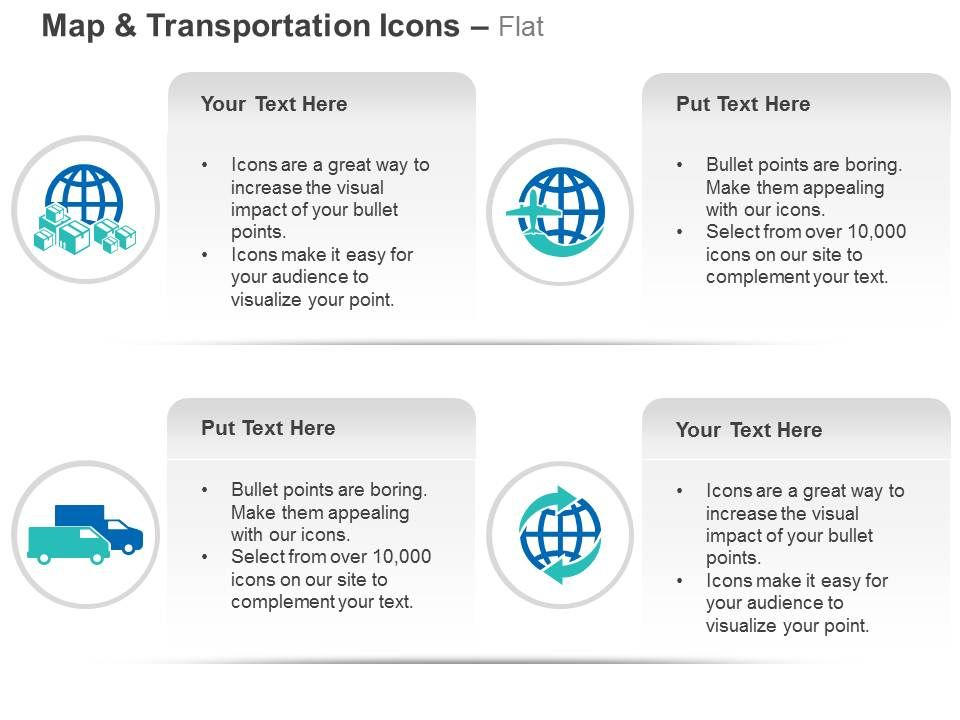 Export Freight Global Travel Business Ppt Icons Graphics