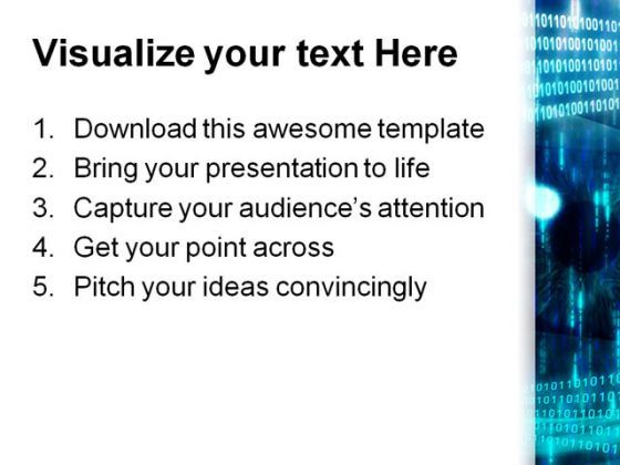 Eye With Code Technology PowerPoint Templates And PowerPoint ...