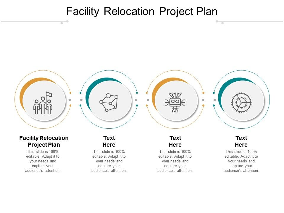 Facility Relocation Project Plan Ppt Powerpoint Presentation Slides Deck Cpb