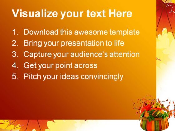 fall ppt templates
