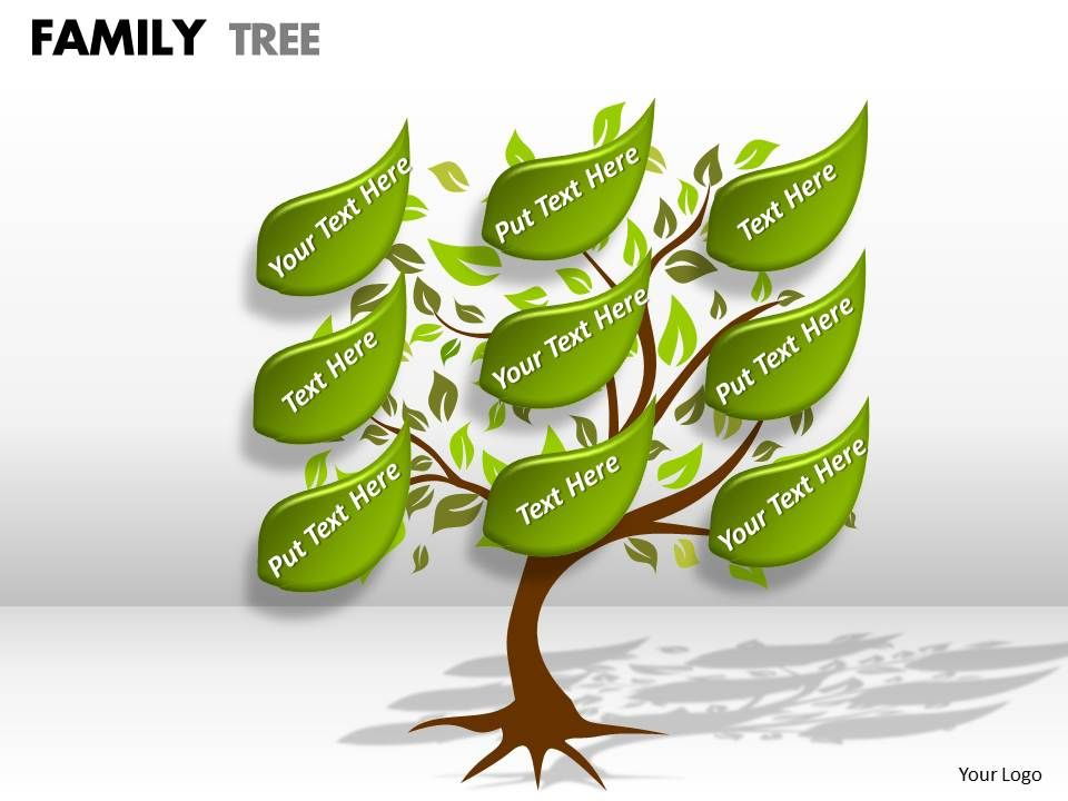 Family Tree Ppt 4 Powerpoint Templates Designs Ppt Slide