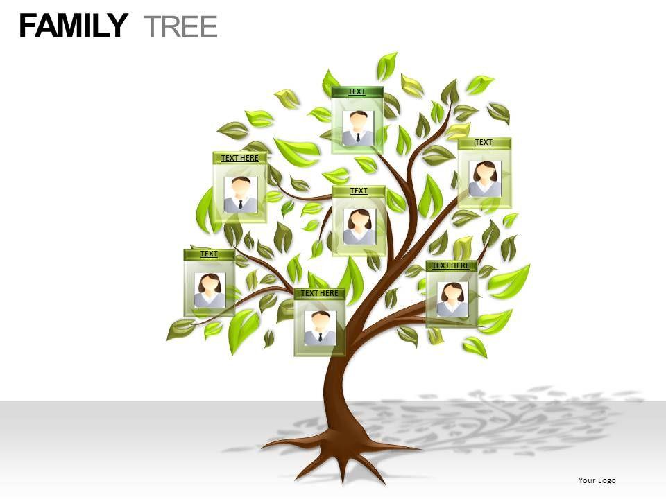 family tree powerpoint presentation slides powerpoint slide