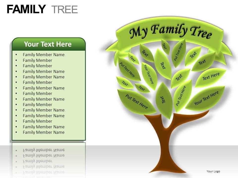 Family Tree Powerpoint Presentation Slides | PowerPoint Slide ...