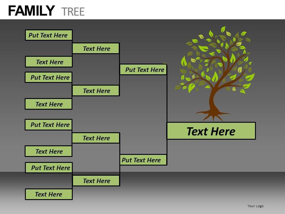 family tree powerpoint presentation slides db