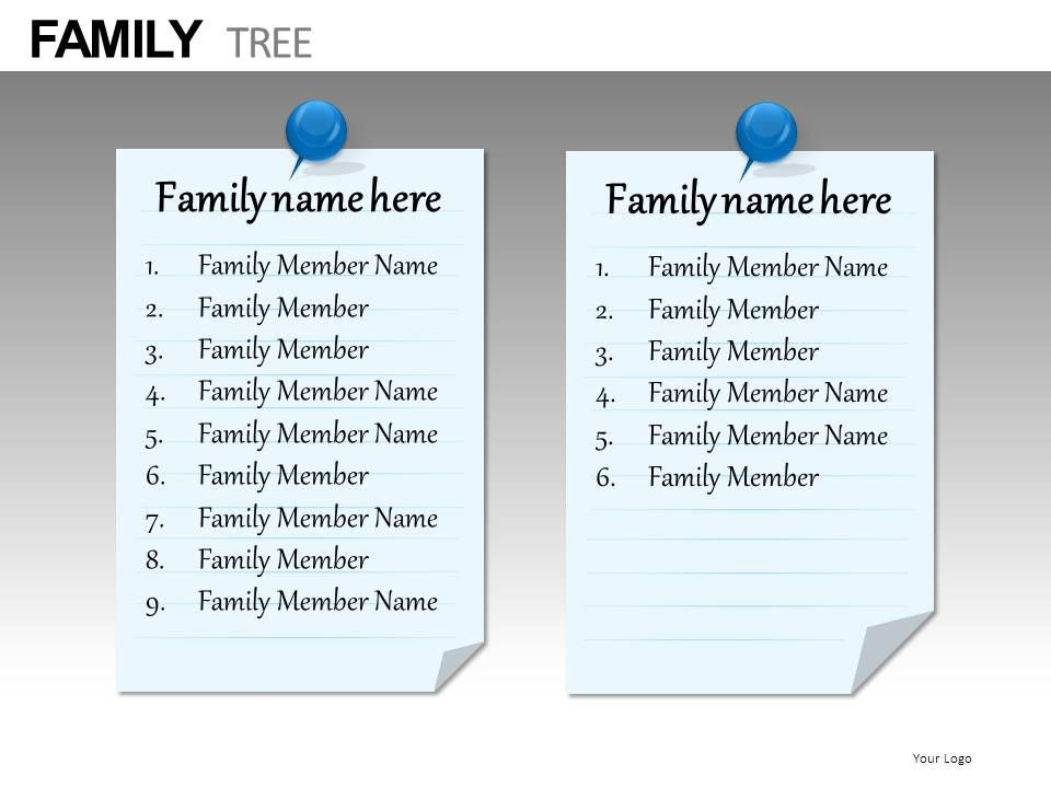 Family Tree Powerpoint Presentation Slides db | Presentation ...