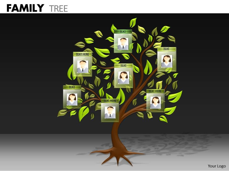 Family Tree Ppt 1 Powerpoint Design Template Sample Presentation