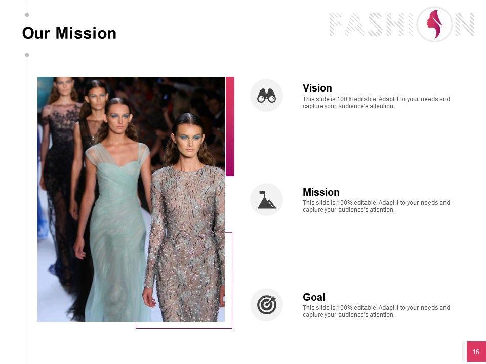 Fashion Designing Show Sponsorship Proposal Powerpoint Presentation Slides Powerpoint Slide Template Presentation Templates Ppt Layout Presentation Deck