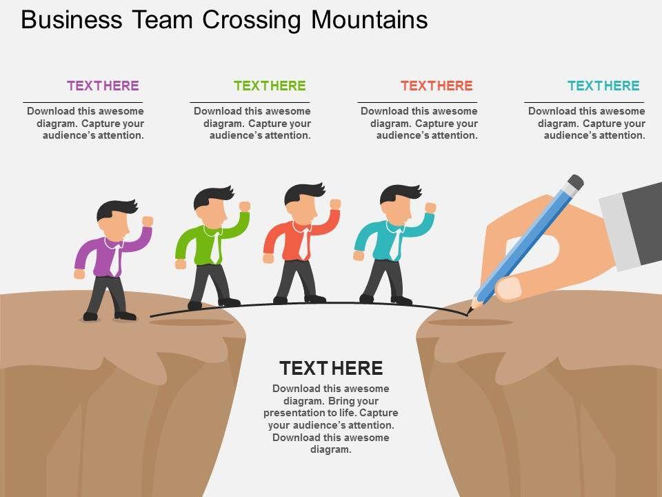 fd_business_team_crossing_mountains_flat_powerpoint_design_Slide01