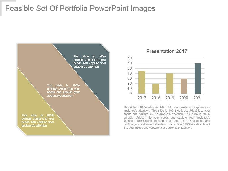 Feasible Set Of Portfolio Powerpoint Images | PowerPoint
