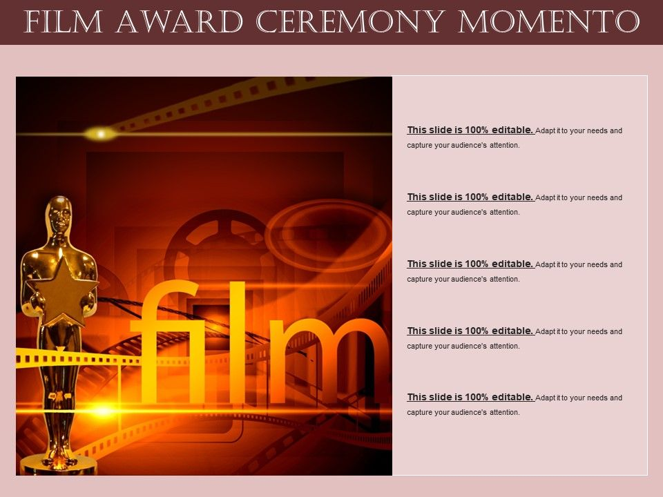 Film award ceremony momento powerpoint slide images ppt design filmawardceremonymomentoslide01 filmawardceremonymomentoslide02 filmawardceremonymomentoslide03 filmawardceremonymomentoslide04 toneelgroepblik Gallery