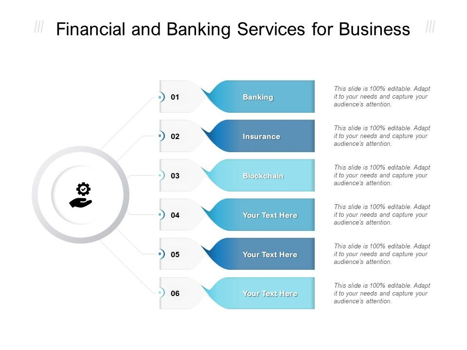 Financial And Banking Services For Business