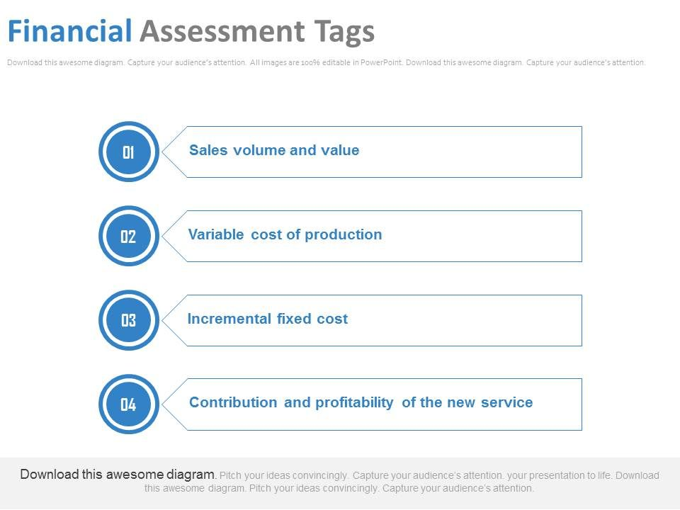 Financial Assessment Tags Ppt Slides Presentation Powerpoint