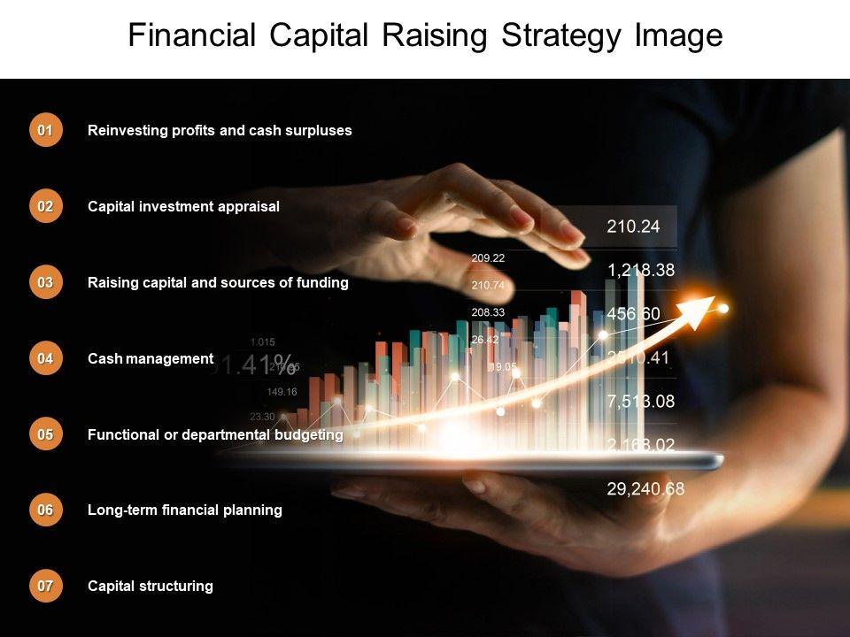 Financial Capital Raising Strategy Image