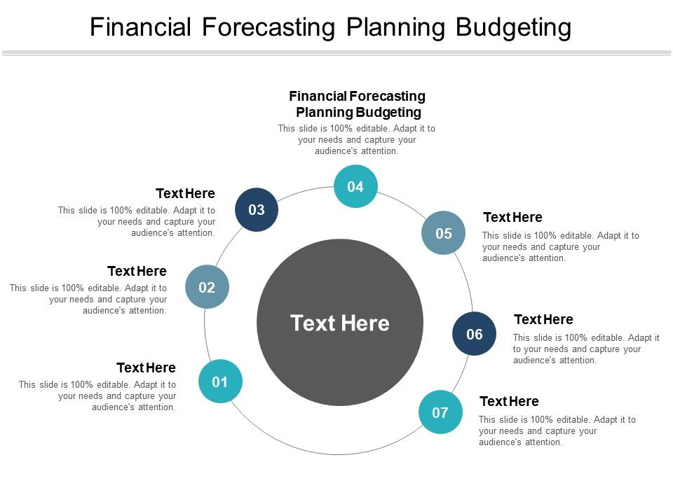 Financial Forecasting Planning Budgeting Ppt Powerpoint Presentation Slides Model Cpb