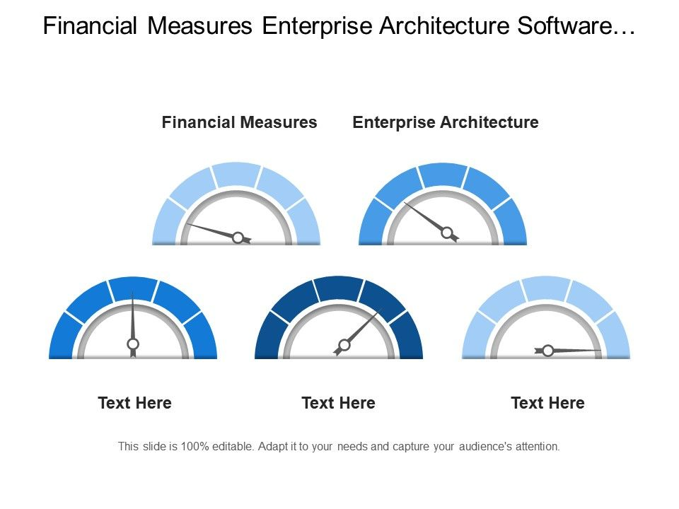 Financial Measures Enterprise Architecture Software Infrastructure