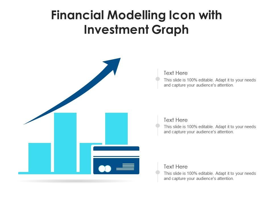 Financial Modelling Icon With Investment Graph