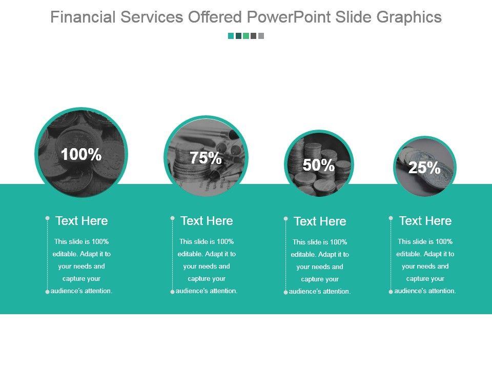 financial services offered powerpoint slide graphics powerpoint
