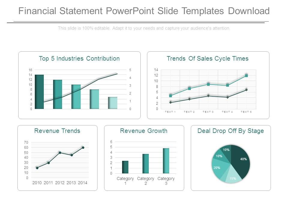 Financial Statement Powerpoint Slide Templates Download