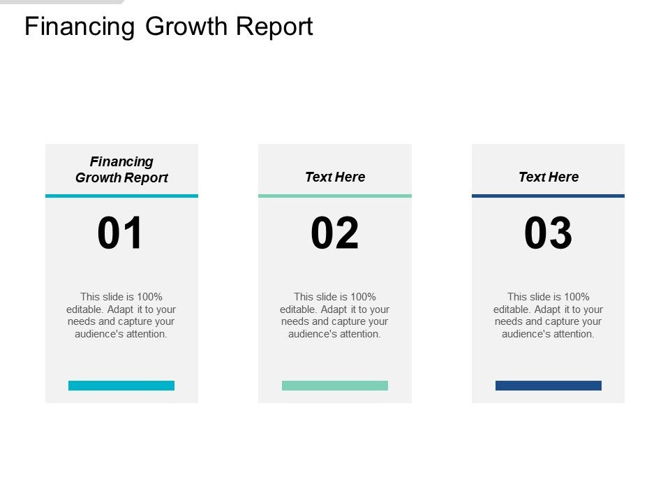 Financing Growth Report Ppt Powerpoint Presentation Layouts Sample